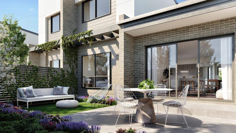 JWLand Evergreen Courtyard