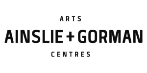 JWLand Ainslie + Gorman Arts Centre Logo